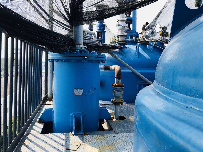 客户安装使用中的聚四氟乙烯换热器6