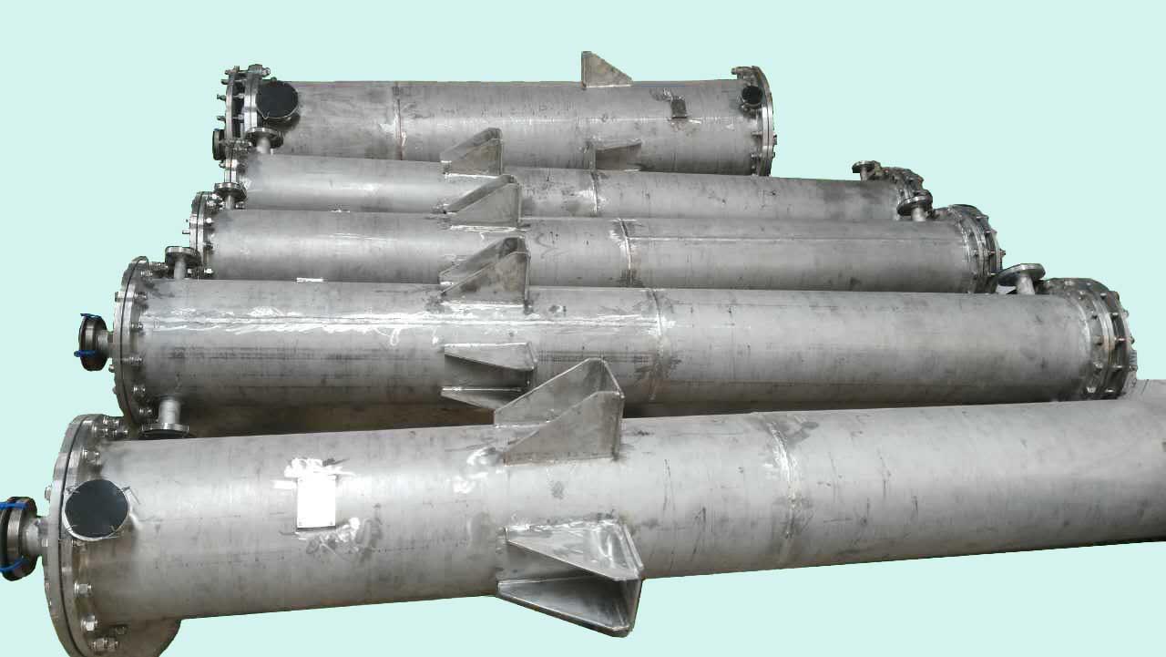 不锈钢外壳聚四氟乙烯换热器
